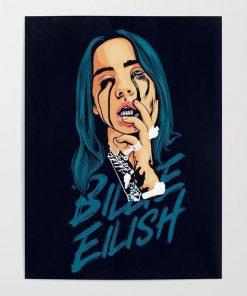 WallArt Posters Billie Eilish Poster