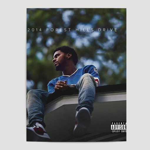 WallArt Posters J. Cole - 2014 Forest Hills Drive Poster