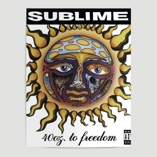 WallArt Posters Sublime 40oz. To Freedom Poster