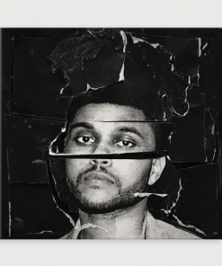 WallArt Posters The Weeknd Beauty Behind The Madness Poster