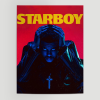 WallArt Posters The Weeknd Starboy Land Poster