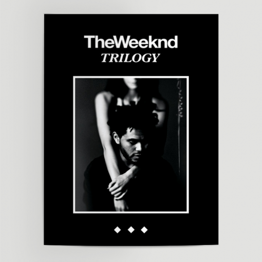 WallArt Posters The Weeknd Trilogy Poster