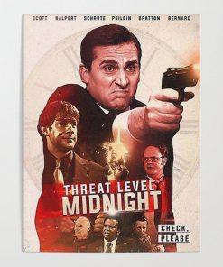 WallArt Posters Threat Level Midnight Movie Poster