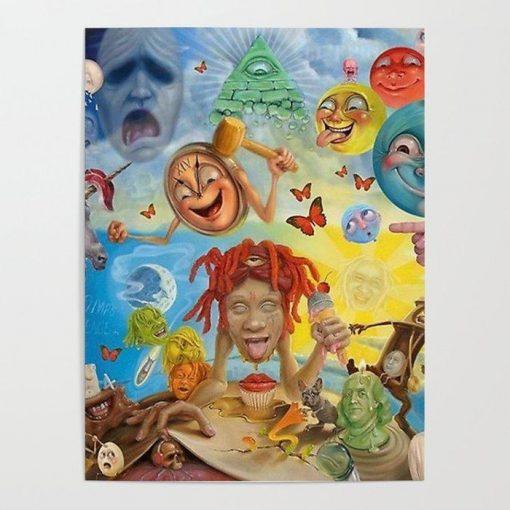 WallArt Posters Trippie redd Lifes a trip Poster