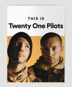 WallArt Posters Twenty One Pilots Poster
