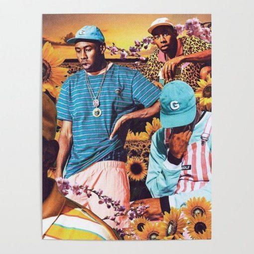 WallArt Posters Tyler, The Creator - Flower Boy Poster