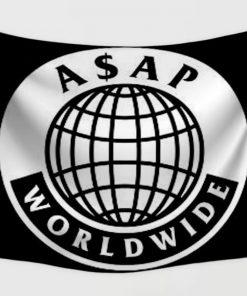 WallArt Tapestries ASAP Mob-Rapper avatars Wall Tapestry