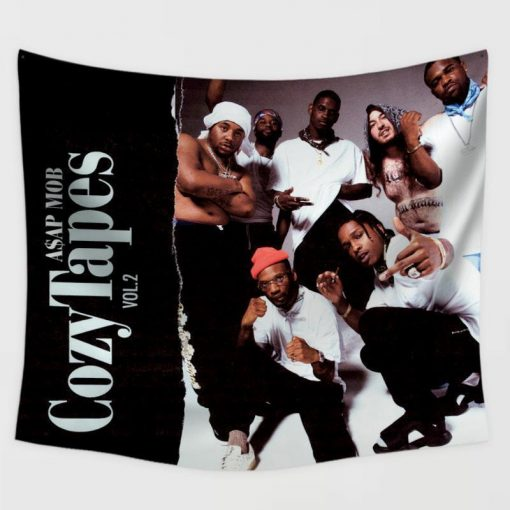 WallArt Tapestries ASAP MobCozy Tapes Vol.2  Too Cozy Wall Tapestry