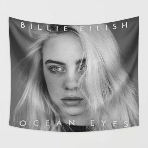 WallArt Tapestries Billie Eilish Ocean Eyes Wall Tapestry