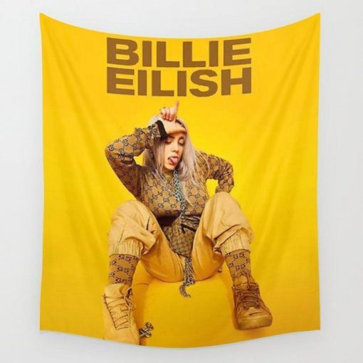 WallArt Tapestries Billie Show American Tour 2019 Wall Tapestry