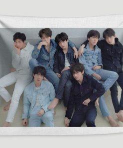 WallArt Tapestries BTS Bangtan Boys Wall Tapestry