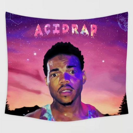 WallArt Tapestries Chance the Rapper Acid Rap Wall Tapestry