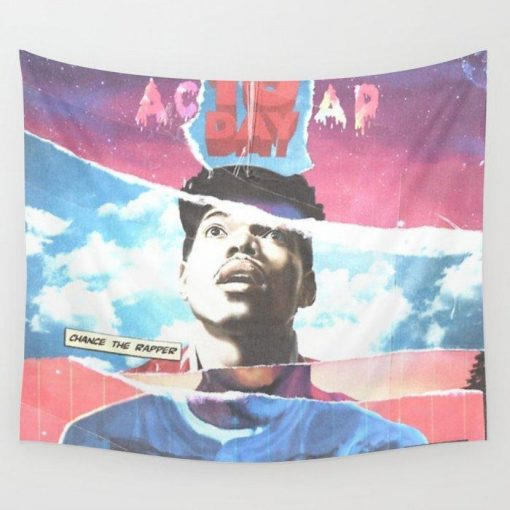 WallArt Tapestries Chance the Rapper Wall Tapestry