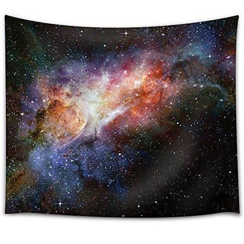 WallArt Tapestries Colorful Galaxy Wall Tapestry