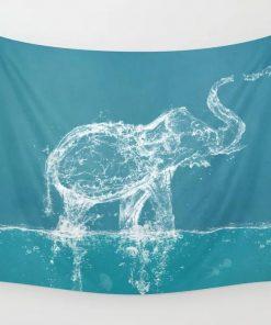 WallArt Tapestries Elephant Wall Tapestry