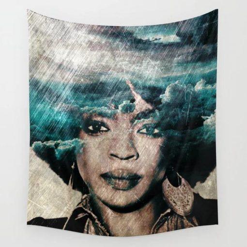 WallArt Tapestries Lauryn Hill Wall Tapestry