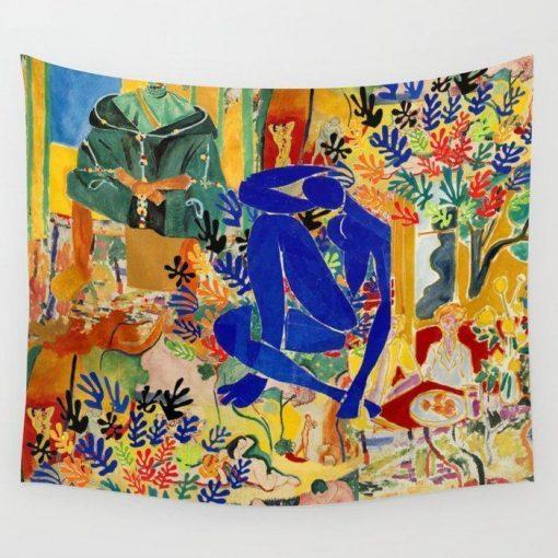 WallArt Tapestries Matisse el Henri Wall Tapestry