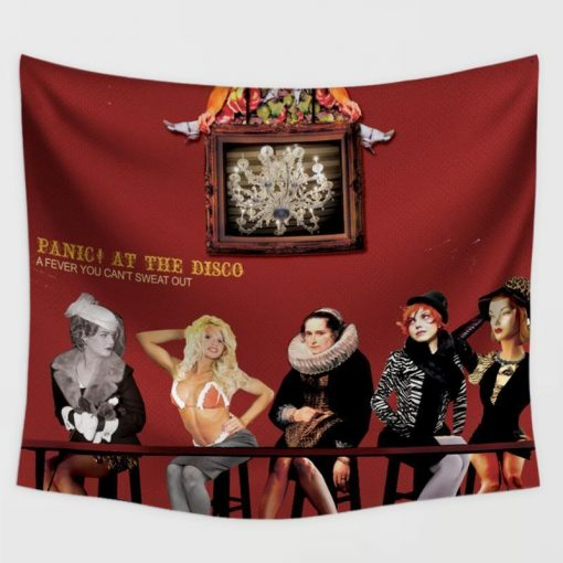 WallArt Tapestries Panic! At The Disco A Fever You Can't Sweat Out Wall Tapestry