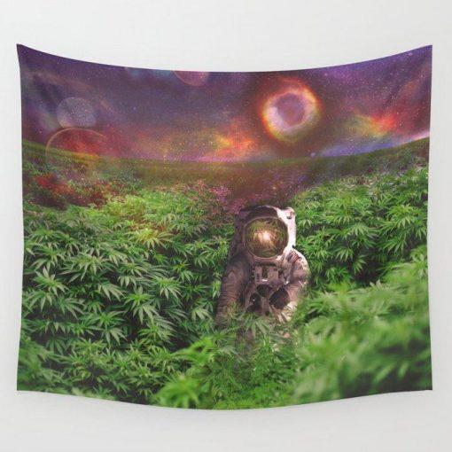 WallArt Tapestries Planet Hemp Wall Tapestry
