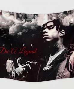 WallArt Tapestries Polo G Die A Legend Wall Tapestry