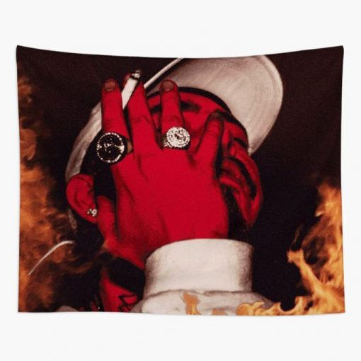 WallArt Tapestries Post Malone August 26 Wall Tapestry