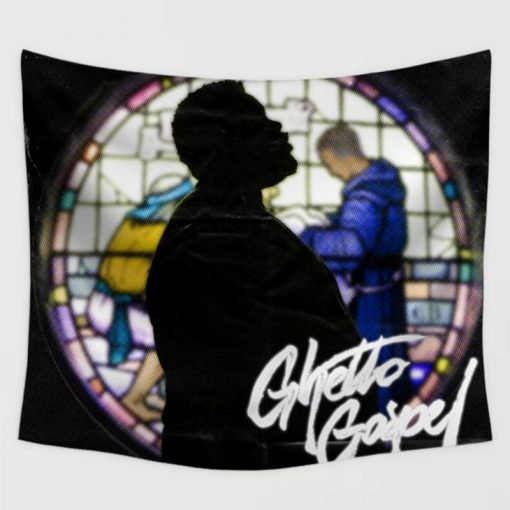 WallArt Tapestries Rod Wave Ghetto Gospel Wall Tapestry