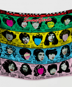 WallArt Tapestries The Rolling Stones Some Girls Wall Tapestry
