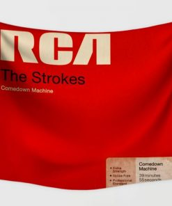 WallArt Tapestries The Strokes Comedown Machine Wall Tapestry