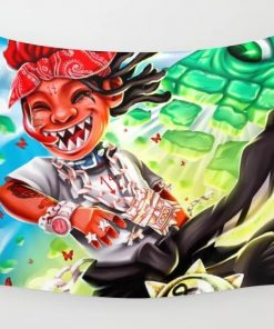 WallArt Tapestries Trippie Redd - A Love Letter To You 3 Wall Tapestry