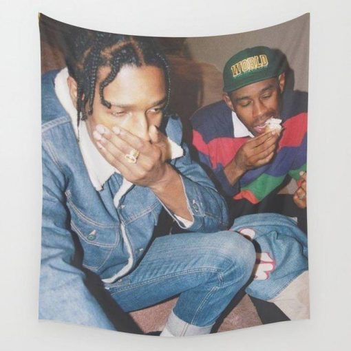 WallArt Tapestries Tyler and Asap Wall Tapestry