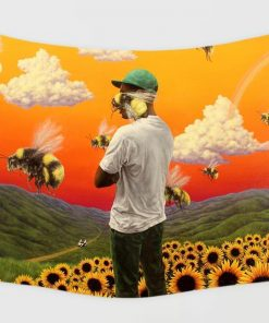 WallArt Tapestries Tyler, The Creator Flower Boy Wall Tapestry