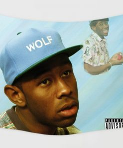 WallArt Tapestries Wolf-Tyler, The Creator Wall Tapestry