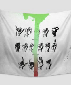WallArt Tapestries Young Thug Young Stoner Life - Slime Language Wall Tapestry
