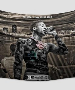 WallArt Tapestries YoungBoy Never Broke Again Wall Tapestry