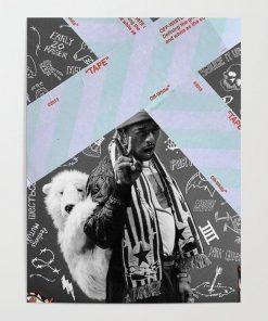 WallArteShop Posters Lil Uzi Poster