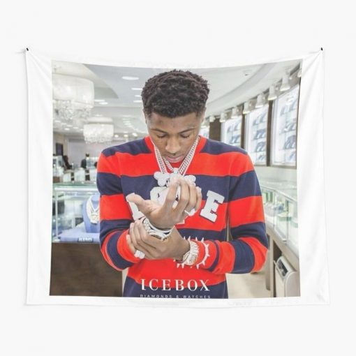 WallArteShop Tapestries Youngboy Never Broke Again Wall Tapestry
